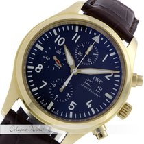 IWC Fliegerchronograph Gelbgold 43mm. IW371713