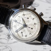 Jaeger-LeCoultre Vintage Valjoux 72 Stainless Steel Chronograph