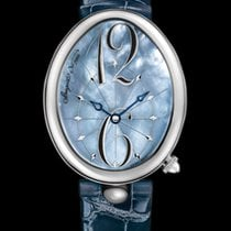 Breguet Reine de Naples Blue Mother of pearl dial