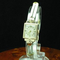 Art Deco Art-deco Art Deko 14kt 585 Gold Handaufzug Damenuhr