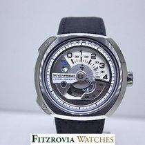 Sevenfriday V1/01 Silver/White UNWORN rrp £1090