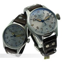 IWC Big Pilot + Mark XVI  Father & Son Collection Platin...