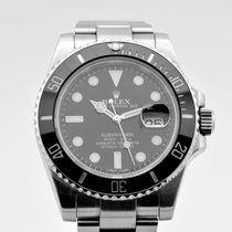 Rolex Submariner Date  116610NL Serviced by Rolex in 2017