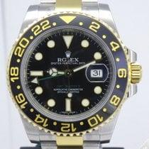 Rolex GMT Master II Steel and Gold Ceramic Bezel 116713LN
