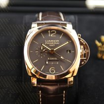 沛納海 (Panerai) PAM00576   Luminor 1950 8 Days GMT Rose Gold