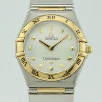 オメガ (Omega) Constellation My Choise Quartz Steel-18k Gold Lady...