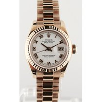 Rolex 179175  Datejust 26mm Rose Gold