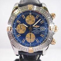 Breitling Chronomat Evolution Gold/Steel Blue