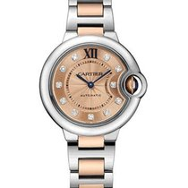 Cartier W3BB0002 Ballon Bleu Ladies 33mm Automatic in 2-Tone -...
