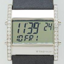 TAG Heuer Microtimer  Diamonds Quartz Steel Unisex CS111F