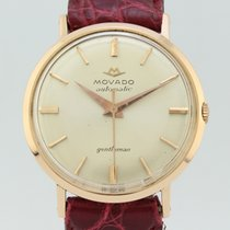 Movado Gentleman Automatic  18k Gold