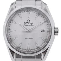Omega Seamaster Aquaterra 39 Quartz Silver Dial