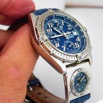 Breitling Chronomat Vitesse UTC, blue dial, Full Set, first...