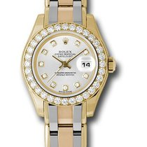 Rolex Unworn 80298 Ladies Tridor Masterpiece with Diamond...