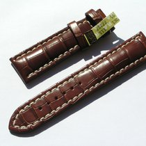 Breitling Croco Armband 22/20mm (80/120) Braun Brown Neupreis...