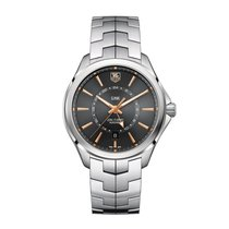 TAG Heuer Link 42mm Date GMT Automatic Mens Watch Ref WAT201C....