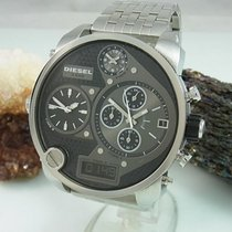 Diesel Dz-7221 Xxl Chronograph 4 Time Zone Herrenuhr Mit...