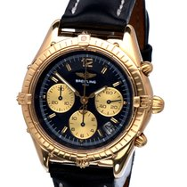 Breitling Chrono Cockpit Chronograph Yellow Gold 18 krt / 37 mm