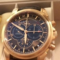 Omega De Ville Chronoscope GMT 44 mm Co-Axial 18K 750 Gold