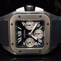 Cartier 2011 Santos 100XL Chrono Titanium/Carbon, W202005,...