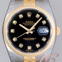 ロレックス (Rolex) パーペチュアル デイトジャスト メンズ ブラック Datejust Black