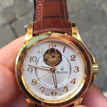 Bulova Automatico oro gold 42 mm Classic Collection Skeleton NEW