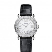Chopard 278509-3009 Happy Sport Diamonds Steel Lady