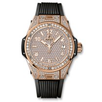 Hublot Big Bang One Click King Gold Full Pavé