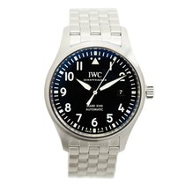IWC Pilots Stainless Steel Black Automatic IW327011