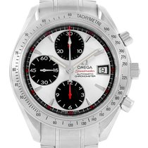 Omega Speedmaster Day Date Chronograph Silver Dial Watch...