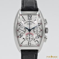 Franck Muller Cintree Curvex Chronograph Silver Dial 7880 CC AT