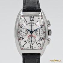 Franck Muller Cintree Curvex Chronograph Silver Dial 7880 CC AT