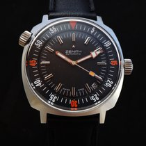 Zenith Rare Vintage Diver Watch 70's