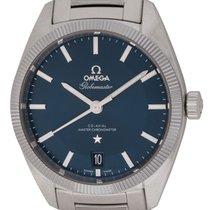 Omega : Globemaster :  130.30.39.21.03.001 :  Stainless Steel...
