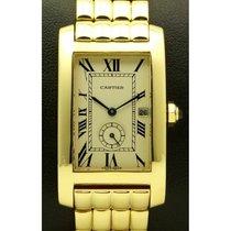Cartier | Tank Americaine Medium, 18 Kt Yellow Gold