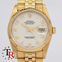Rolex Datejust Jubile Gold 36mm Mint