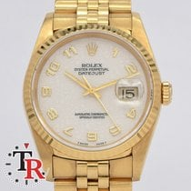 Rolex Datejust Jubile Gold 36mm Mint