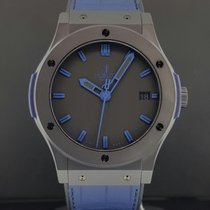 Hublot Classic Fusion 45mm Vendome Black CERAMIC Blue 511.CI.1...