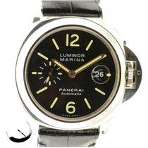 Panerai Luminor Marina Pam 104 Steel 44mm Automatic Date Watch