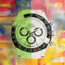 Rolex tableau daytona street art by PyB
