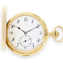 Pocket watch: extremely rare and complex César Racine gold...