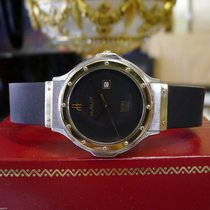Hublot Mdm Geneve Yellow Gold And Stainless Steel Quartz Watch