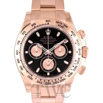 Rolex Daytona Black/18k rose gold Ø40mm - 116505