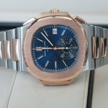 Patek Philippe Nautilus 40.mm Rose Gold and Steel 5980/1AR-0