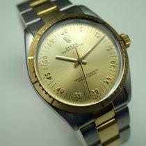 Rolex 1038 Zephyr style 18k & steel rare dial c.1986