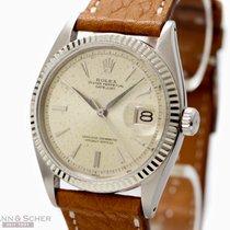Rolex Vintage Datejust Man Size Ref-1601 Stainless Steel Bj-1962