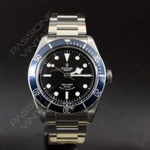 Tudor Heritage black bay blue bezel new full set