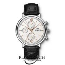 IWC Portofino Chronograph White Dial T