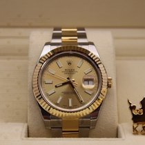 勞力士 (Rolex) 116333   Datejust Gold Dial  Men