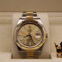 劳力士  (Rolex) 116333   Datejust Gold Dial  Men